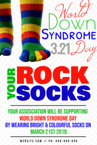 World Down Syndrome Day Poster