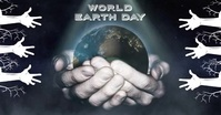 World Earth Day April 22 Save the Earth Faceb Imagen Compartida en Facebook template
