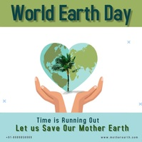 World Earth Day Pos Instagram template