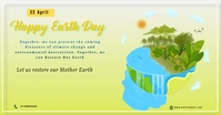 World Earth Day Facebook 共享图片 template