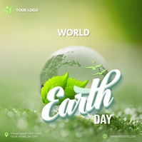 World earth day Instagram post Iphosti le-Instagram template