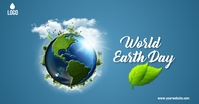world earth day template Imagem partilhada do Facebook
