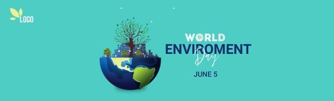 world environment day ภาพพื้นหลัง LinkedIn template