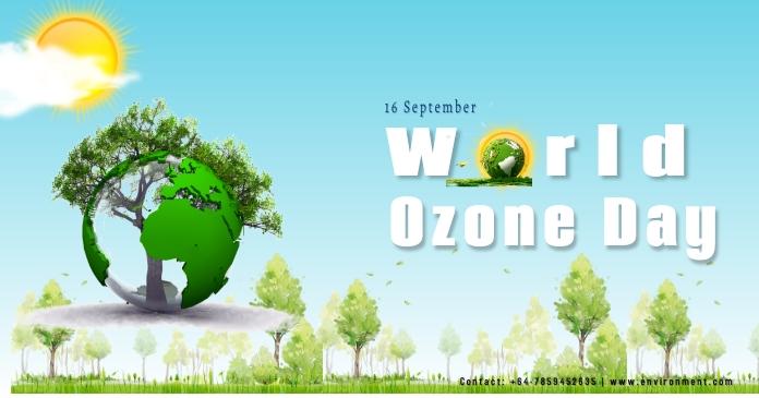 World Environment Day Facebook 共享图片 template