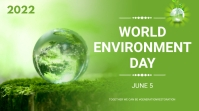 World environment day Pagtatanghal (16:9) template