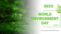 World environment day งานนำเสนอ Presentation (16:9) template