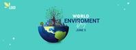world environment day Cover na Larawan ng Facebook template