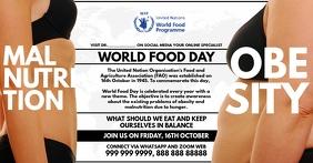 World Food Online Guide Template delt Facebook-billede