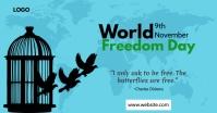 World Freedom Day Gambar Bersama Facebook template