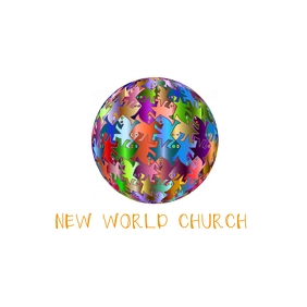 World globe church logo template