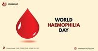 World Haemophilia Day facebook share image Obraz udostępniany na Facebooku template