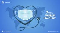 World Health Day Digital Display template