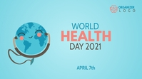 World Health Day Template Twitter 帖子