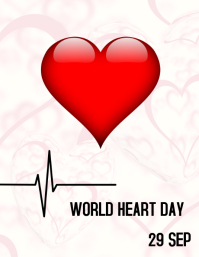 WORLD HEART DAY Pamflet (VSA Brief) template