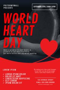 World Heart Day Flyer Design Template