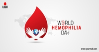 world hemophilia day Imagem partilhada do Facebook template