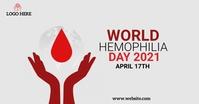 World hemophilia day Ibinahaging Larawan sa Facebook template