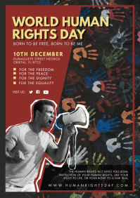 World Human Rights Day A4 template