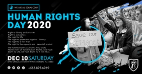 World Human Rights Week Event Invite Facebook template