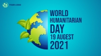 World Humanitarian day facebook share image Twitter Post template