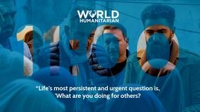 World Humanitarian Day Template Video Sampul Facebook (16:9)
