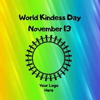 World Kindness Day Instagram Post template