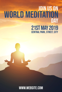 World Meditation Iphosta template