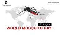 World Mosquito Day Blog template