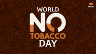 World No Tobacco Day Publicación de Twitter template