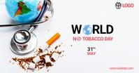 World No Tobacco Day Facebook Advertensie template