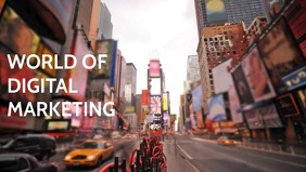 World of Digital Marketing video template