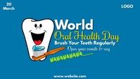World Oral Health Day Nagłowek bloga template
