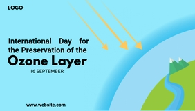 World Ozone Day Header Blog template