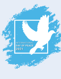 World peace day, international peace day,event Flyer (US Letter) template