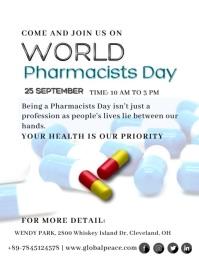 World Pharmacists Day Volante (Carta US) template