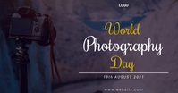 World Photography Day Изображение, которым поделились на Facebook template