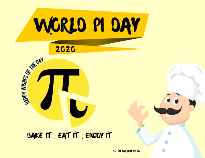 WORLD PI DAY 2020 Template | PosterMyWall