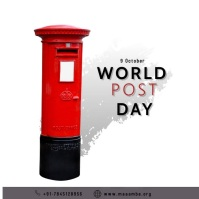 World Post Day template