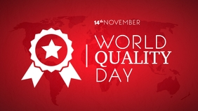 World Quality Day 2020 Template Video Sampul Facebook (16:9)