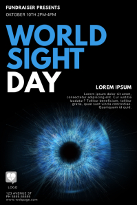 World Sight Day Flyer Design Template