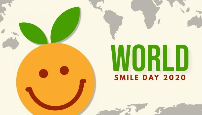 World Smile Day Koptekst blog template