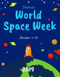 world space week flyer