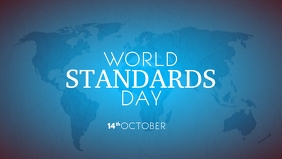 World Standards Day 2020 Template Video Sampul Facebook (16:9)