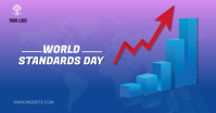 World Standards Day Facebook Gedeelde Prent template