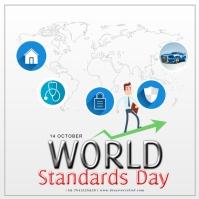 World Standards Day Instagram-opslag template