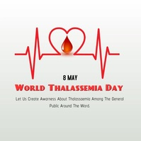World Thalassemia Day Iphosti le-Instagram template