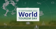 World Tourism Day Facebook Shared Image template