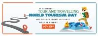 World Tourism Day Copertina Facebook template