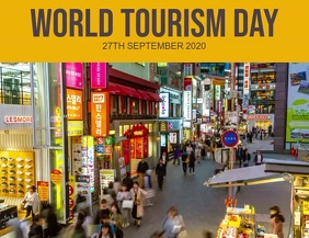 World Tourism Day Template Flyer (US Letter)