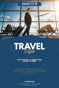 World Travel Expo Conventions Flyer